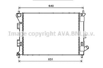 HY2335 Радиатор системы охлаждения HYUNDAI: ELANTRA 1.6 GDI 10-