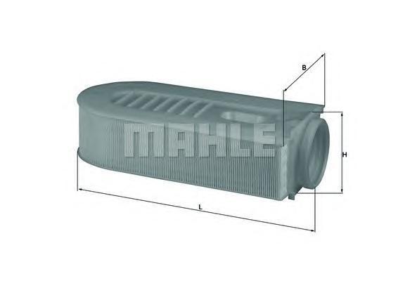 LX16861 Фильтр воздушный MB W211 2.2/2.5 CDI 07-