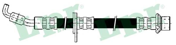 6T47425 Шланг тормозной TOYOTA CARINA E 92-97 передний левый