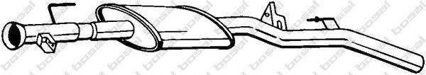 200361 Резонатор RENAULT CLIO 1.4-1.6 00-05