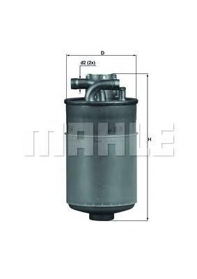 KL154 Фильтр топливный AUDI A4/A6/A8 2.5TDI 7/97-