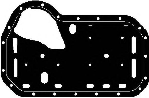 14075800 Прокладка масляного поддона AUDI: 80 1.9 D 86-91, 80 1.9 TD 91-94, 80 Avant 1.9 TD 91-96  SEAT: CORDOBA 1.9 D/1.9 TD 93