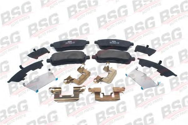 BSG30200031 Колодки тормозные дисковые передние / FORD Fiesta-VI,MAZDA-2 07~