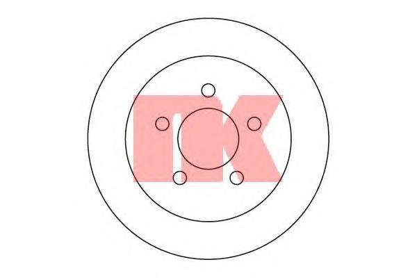 209307 Диск тормозной JEEP GRAND CHEROKEE 92-99 задний D=285мм.