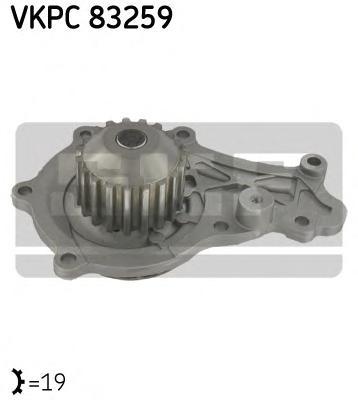 VKPC83259 Насос водяной FORD/CITROEN/PEUGEOT/MAZDA/VOLVO/FIAT 1.6 D 03