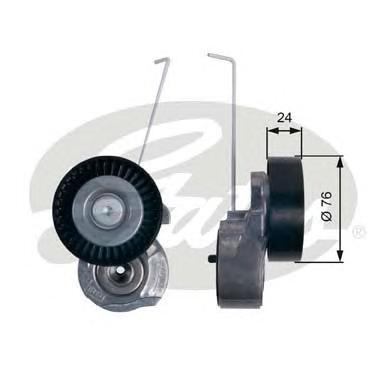 T38495 Натяжитель ремня приводного VOLVO S60/S80/XC90/XC60/XC70 3.0/3.2 06-