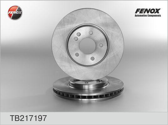 TB217197 Диск тормозной MERCEDES C209/W203/W210/A208/R170/R171 передний вент.