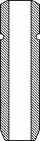VAG96107 Направляющая клапана TOYOTA CAMRY/CARINA E 2,0TD 86-97 L=46mm