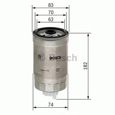 1457434324 Фильтр топливный E38 740D/730D