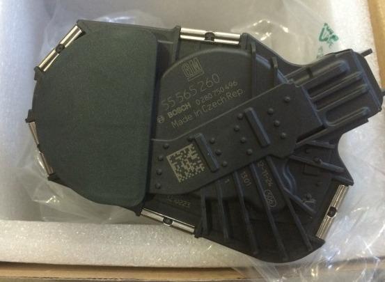 55565260 Блок дроссельной заслонки / OPEL  Astra-J 1,6 LET