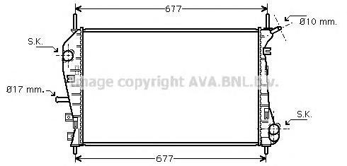 FDA2376 Радиатор системы охлаждения FORD: MONDEO III (B5Y) 2.0 16V DI / TDDi / TDCi/2.0 16V TDDi / TDCi/2.0 TDCi/2.2 TDCi 00 - ,