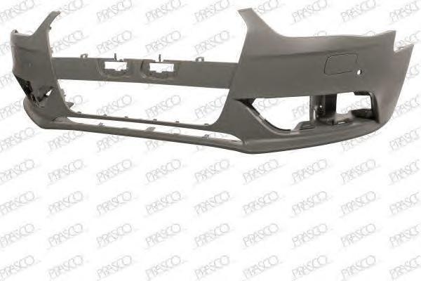 AD0251021 Бампер передний грунтованный (для а/м с омывателем фар+парктроник) / AUDI A4 12~