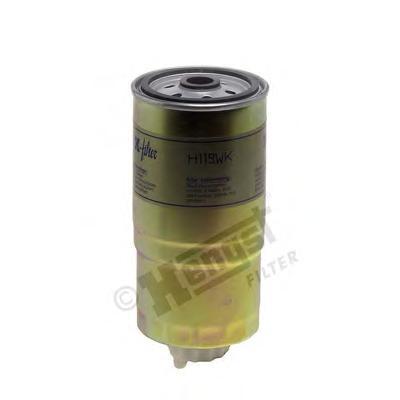 H119WK Фильтр топливный AUDI: 100 90-94, 100 Avant 90-94, 80 86-91, 80 91-94, 80 Avant 91-96, 90 87-91, A4 94-00, A4 Avant 94-01