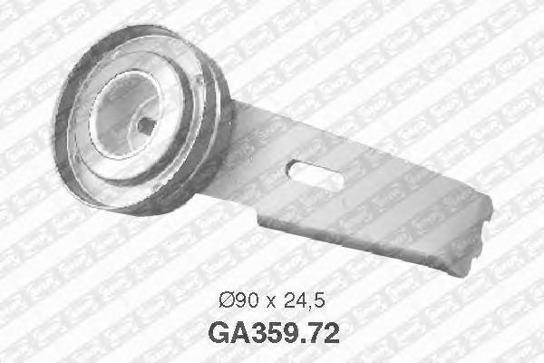 GA35972 Деталь FR SNR Pолик доп. обоpудования