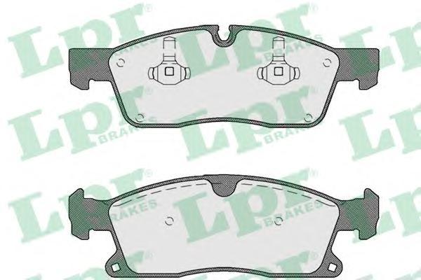 05P1735 Колодки тормозные MERCEDES-BENZ ML W166 250-350 11- передние