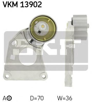 VKM13902 Натяжитель ремня ГРМ CITROEN C5/C6/PEUGEOT 406/607 3.0