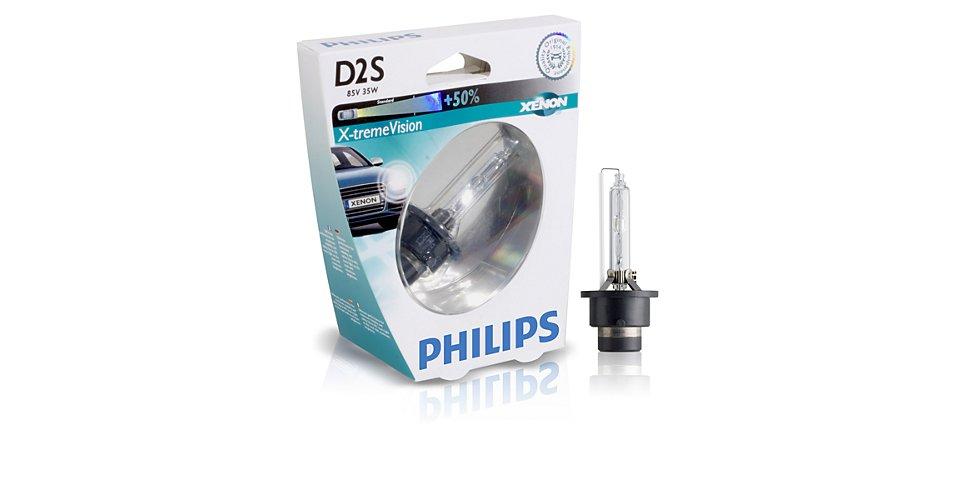85122XVS1 Лампа газоразрядная блистер 1шт D2S 85V 35W P32D-2 XENON X-TREME VISION (На 50% лучшая видимость на дороге в сравнении