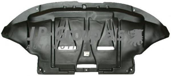 1181300800 Защита двигателя передняя / A4, VW Passat, Skoda Superb 96~