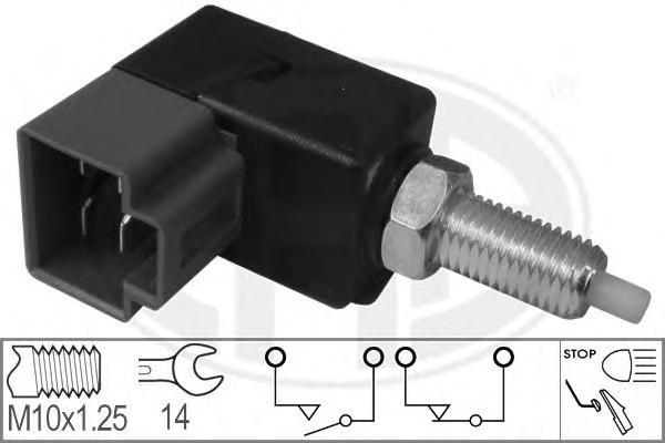 330043 Выключатель фонаря сигнала торможения HYUNDAI AVANTE II (J-2) 1.5 12V 1996/12-2000/09
