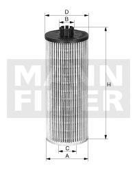 HU7020Z Фильтр масляный VAG 1.6D-2.0D 12-