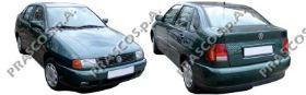 VW0172133 Решетка переднего бампера, правая (для а/м с противот. фарами) / VW Caddy 96~03, VW Polo Classic 96~00