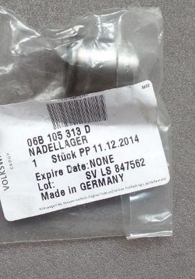 06B105313D Подшипник