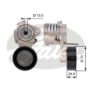 T39112 Натяжитель ремня приводного BWM X5/E60/E65/E90 N52/53
