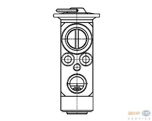 8UW351239401 Клапан кондиционера MB