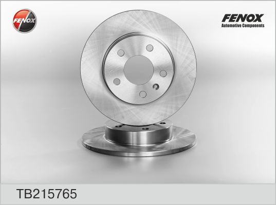 TB215765 Диск тормозной OPEL ASTRA 98-/MERIVA 03-/ZAFIRA 99- задний