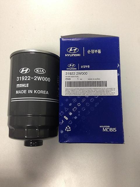 319222W000 Фильтр топливный САНТА-ФЕ 2.2D DM 2012