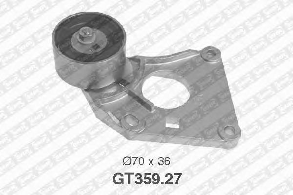 GT35927 Ролик натяжной ремня ГРМ RENAULT: Clio, Laguna, Espace, Avantime, Safrane - PEUGEOT: 407, 807, 605, 607, 406, CITROEN: C