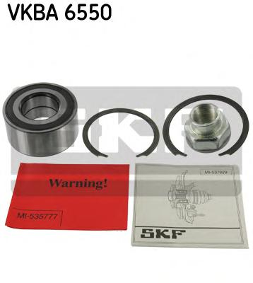 VKBA6550 Подшипник ступ.OPEL CORSA D/FIAT/PSA 99- пер.