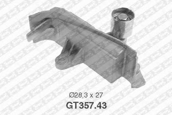 GT35743 Ролик ремня ГРМ VAG 1.8T/2.0 95-