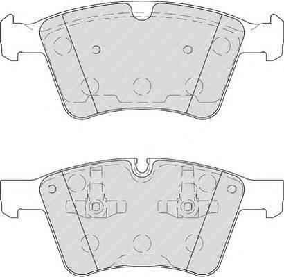 FDB4189 Колодки тормозные MERCEDES GL X164 4.2-5.0/ML W164 5.0/R W241 5.0 передние