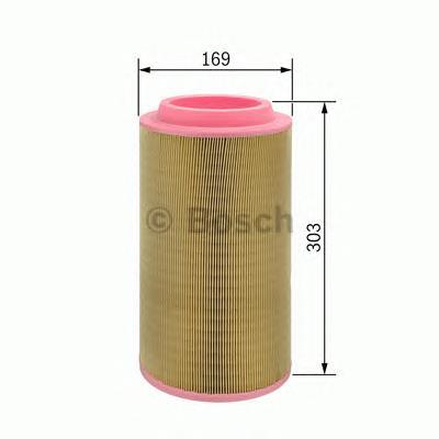 F026400059 Фильтр воздушный DUCATO/BOXER 2.2-3.0D