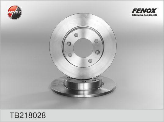 TB218028 Диск тормозной CITROEN BERLINGO/C2/C3/C4/PEUGEOT 307/PARTNER задний D=247мм.