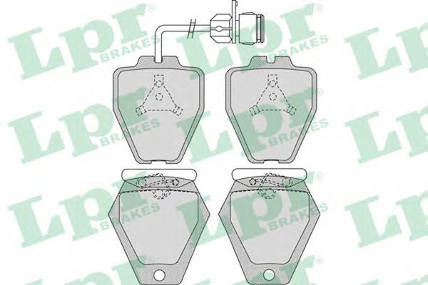 05P981 Колодки тормозные AUDI A8 2.5D-4.2 94-02 передние