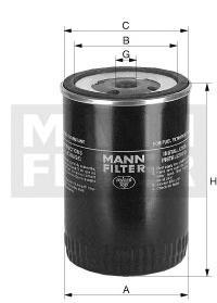 WDK96212 Фильтр топливный KAMAZ