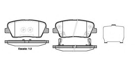 583022PA70 Колодки тормозные задние САНТА-ФЕ NEW FL (CM10)