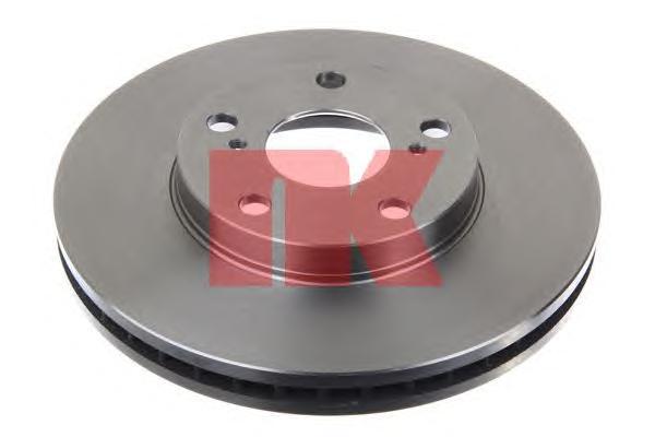 204549 Диск тормозной TOYOTA AVENSIS 01-/CAMRY 91-01/PREVIA 00- передний вент.D=275мм.