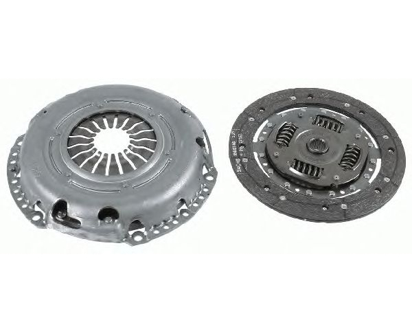 1810592 Комплект сцепления / C-Max,Focus-II/III,Mondeo-IV 1.6 Zetec-S/Duratec 09~