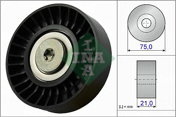 532064710 Ролик ремня приводного MITSUBISHI OUTLANDER 3.0 06-12