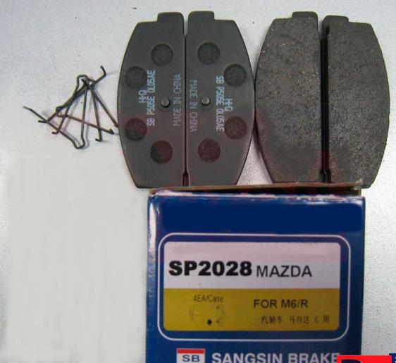 SP2028 Колодки тормозные MAZDA RX 7 92/MAZDA 323 1.8 T/626 9194 задние