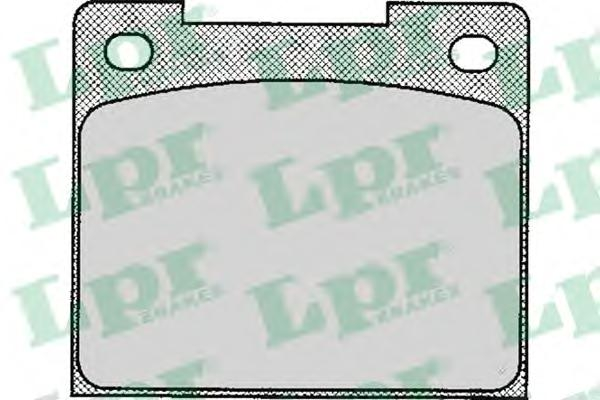 05P113 Колодки тормозные VOLVO 240/260 2.0-2.8 74-93 задние
