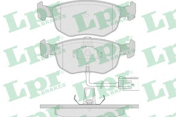 05P745 Колодки тормозные FORD MONDEO 1.8-2.5 94-00 передние