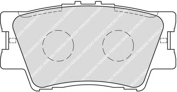 FDB1892 Колодки тормозные TOYOTA RAV 4 06/CAMRY 2.4/3.5 06 задние