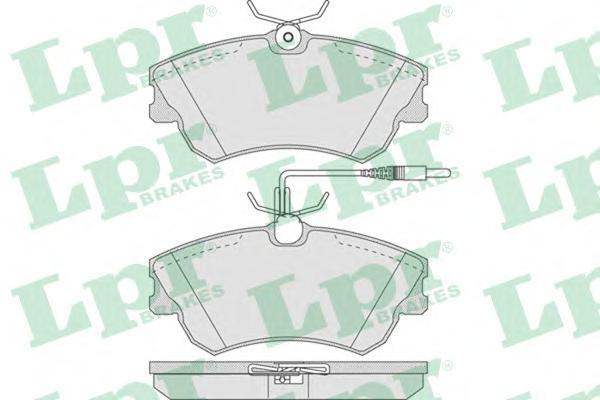 05P750 Колодки тормозные RENAULT ESPACE 1.9-3.0 96-02 передние