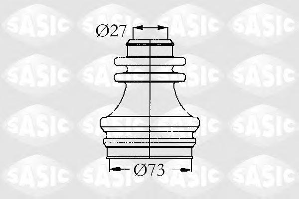 4003462 Пыльник ШРУСа RENAULT CLIO/SCENIC/MEGANE внутр.прав.