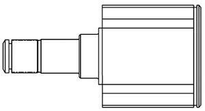 661011 ШРУС AUDI A3 II/SKODA/VW GOLF V-VI/PASSAT VI 1.6-2.0 03- внутр.