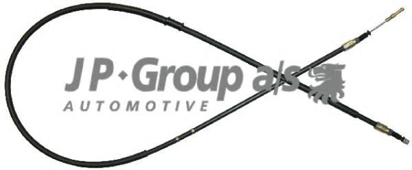 1170306800 Трос ручника л/п Audi 80 91-94 (диск. торм)